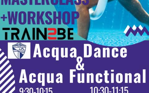 ACQUA DANCE & ACQUA FUNCTIONAL – WORKSHOP + MASTERCLASS 20/10/2019
